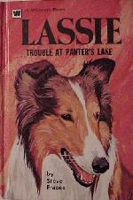 Cover for Lassie: Trouble at Panter's Lake